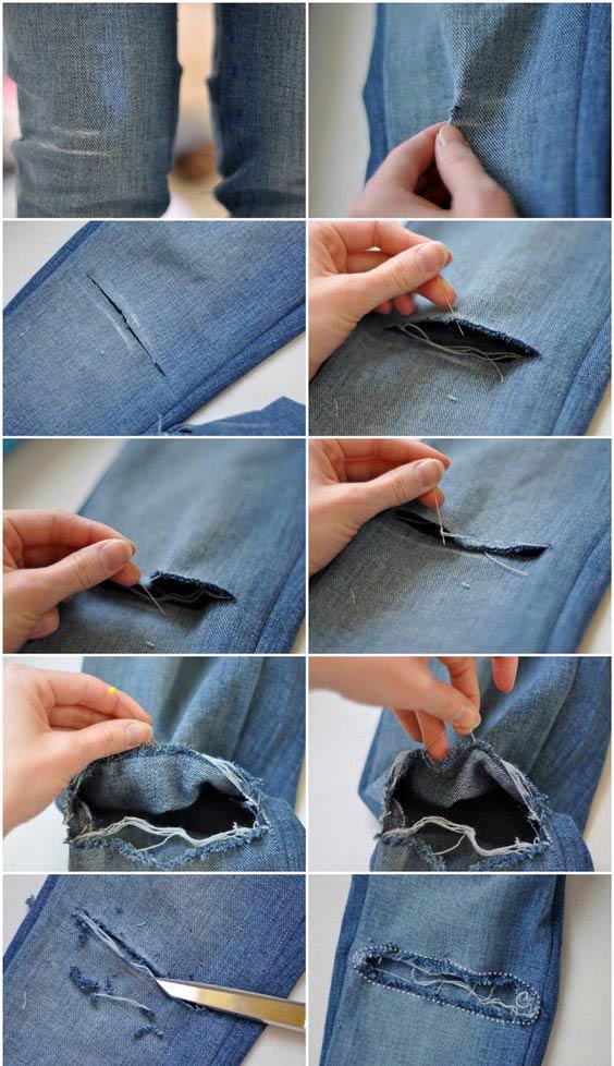 como-fazer-ripped-jeans