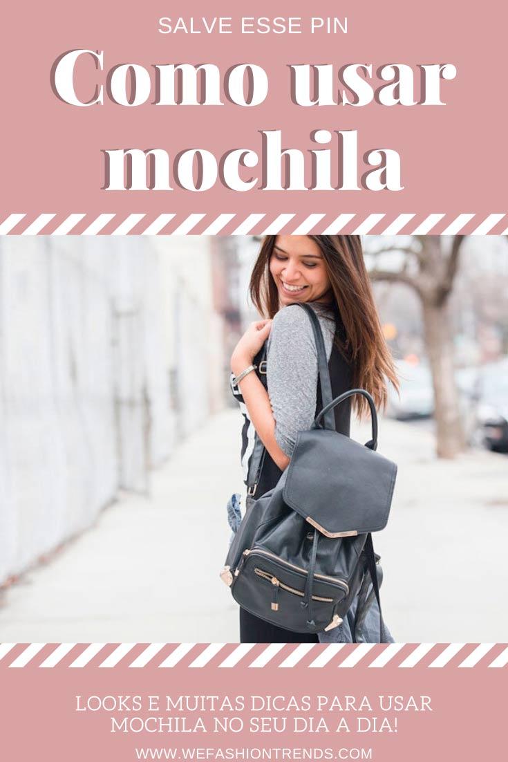 como-usar-mochila-feminina-looks