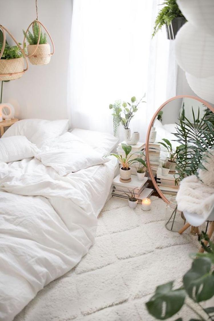 quarto-tumblr-com-cama-no-chão