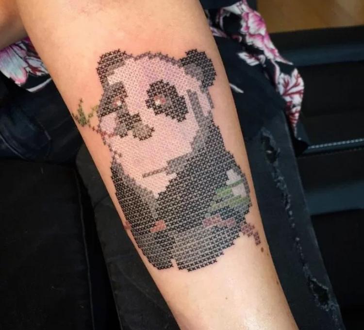 tatuagem-bordada-panda
