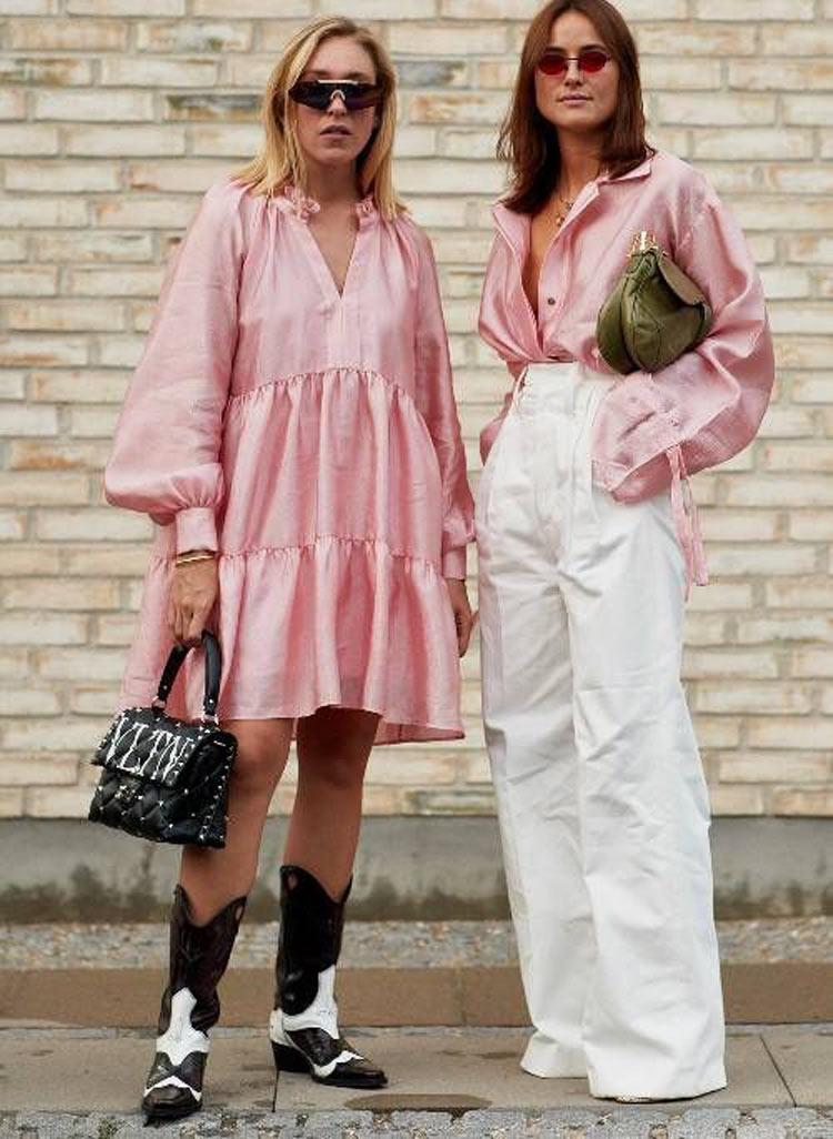 vestido-rosa-e-bota-country