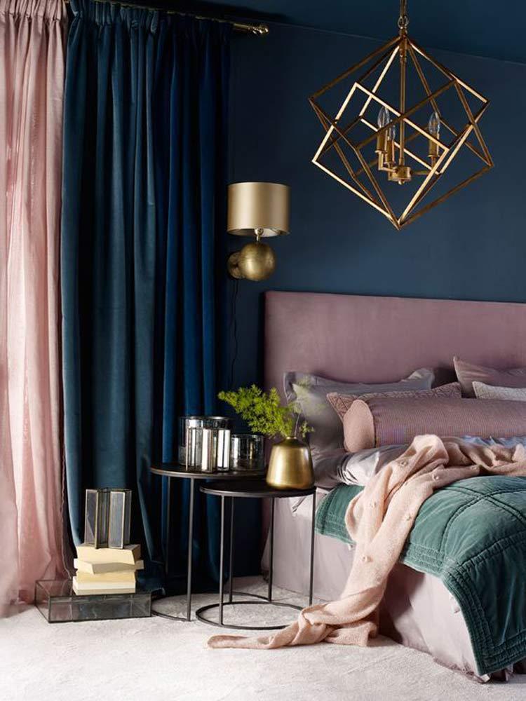 decoração-quarto-com-veludo