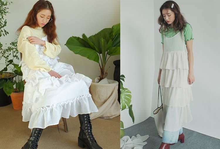 moda-coreana-sobreposição-com-vestidos