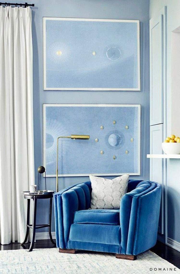 poltrona-azul-veludo-decoração