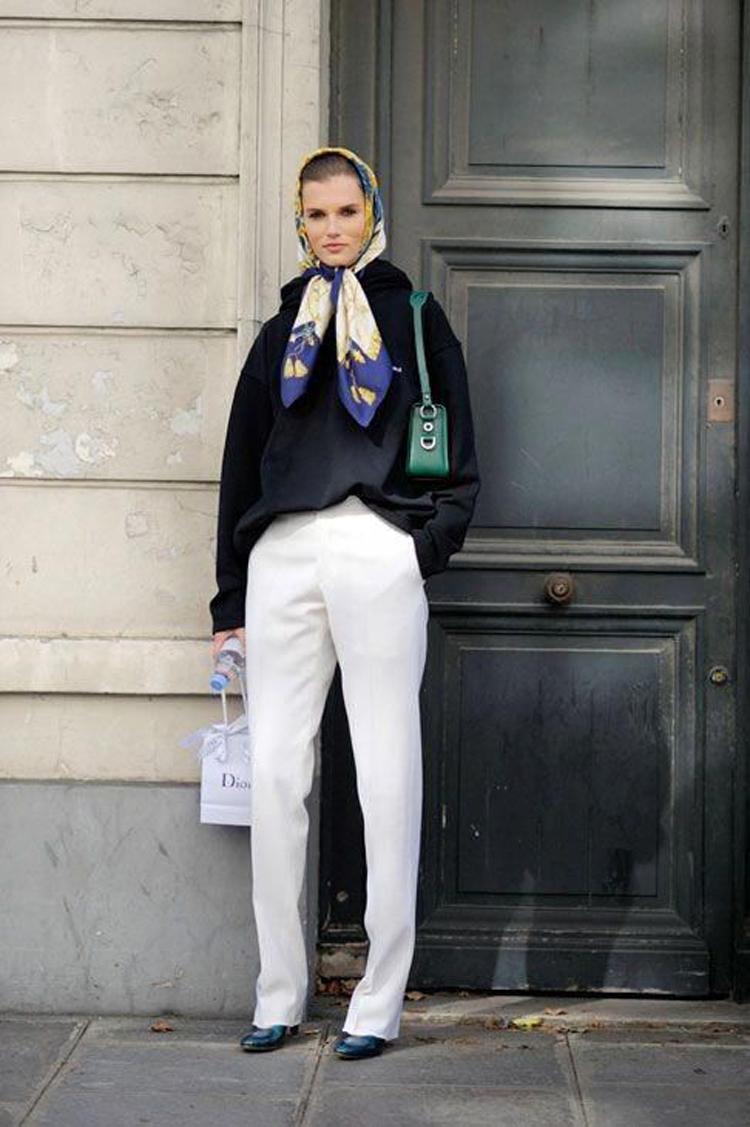 Lenço-na-cabeça-camponesa-calça-branca-e-blusa-preta