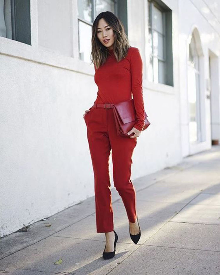 looks-vermelho-entrevista-de-emprego