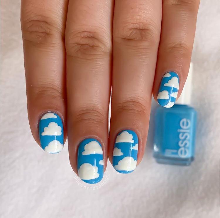 nail-art-nuvem