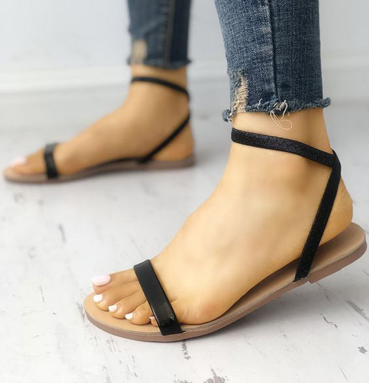 sandalia-rasteira-Strap-Sandals-de-tiras-finas