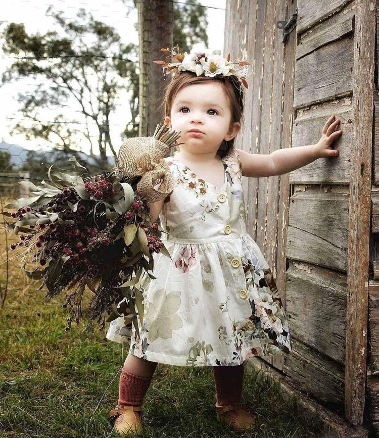 vestido-floral-de-festa-para-bebes