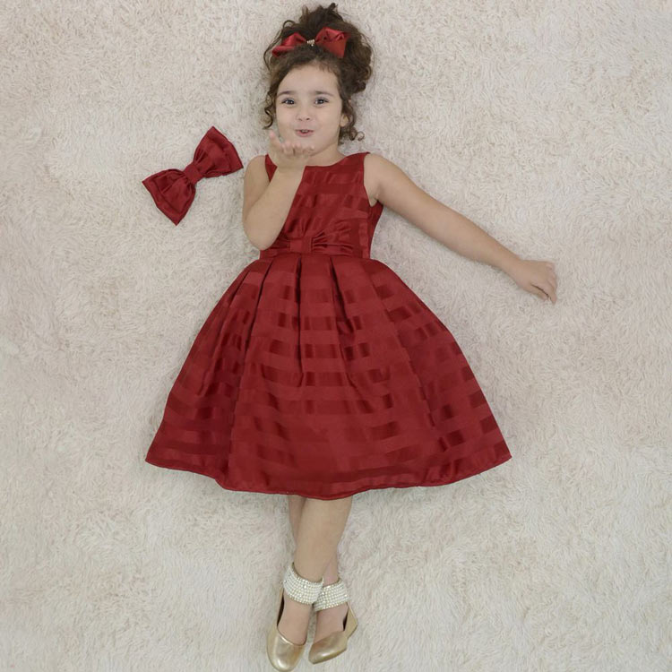 vestido-infantil-festa-vermelho-bordo