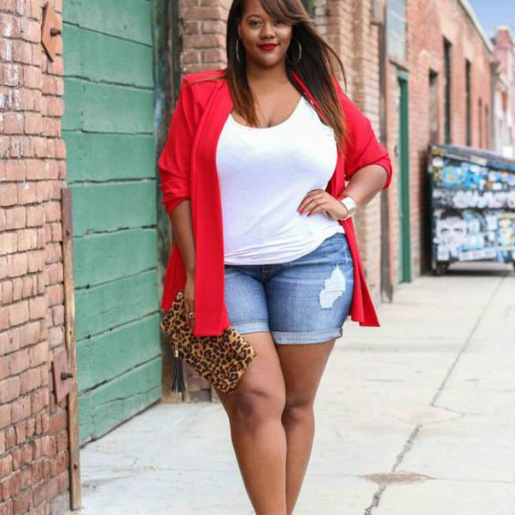look-plus-size-com-shorts-jeans