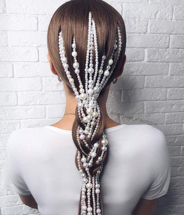 penteado-de-cabelo-com-perolas
