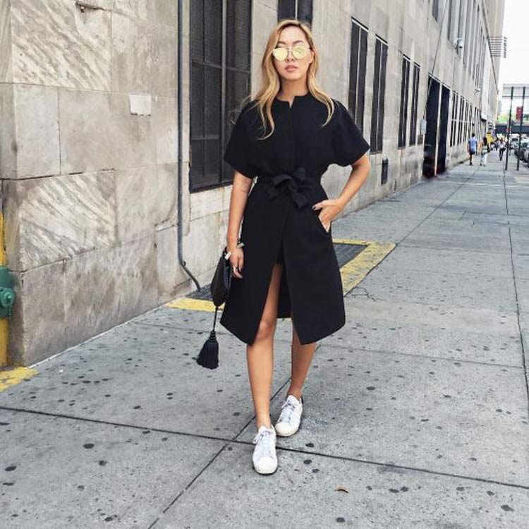 vestido-com-tenis-look-all-black