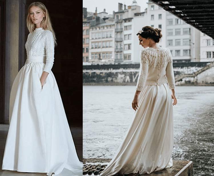 vestido-noiva-inverno-manga-comprida-e-bolso