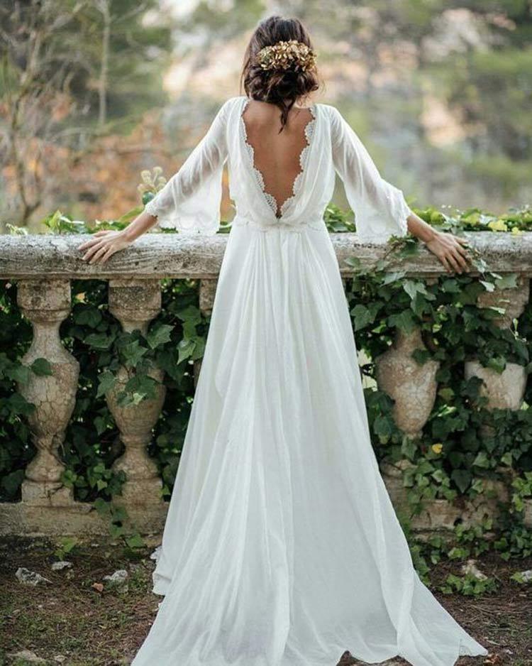 vestido-noiva-inverno-simples