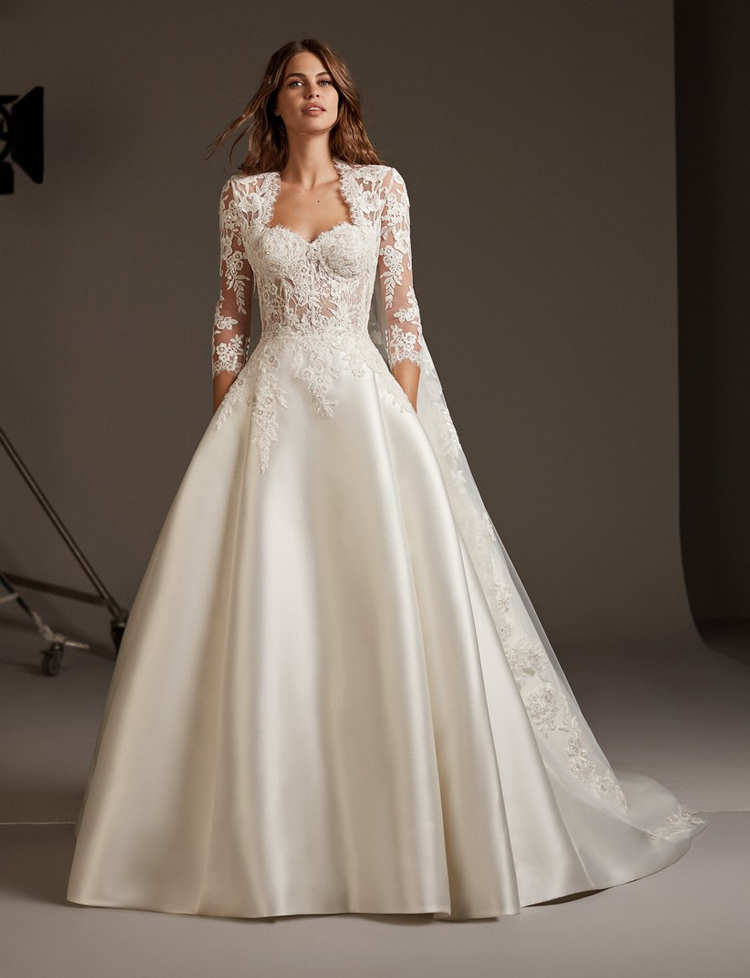 vestido-noiva-renda-e-bolso