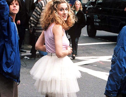 Sarah-Jessica-Parker-na-série-Sex-and-the-city-saia-de-tule