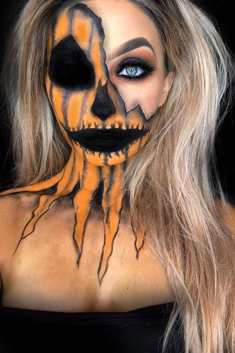 maquiagem-halloween-abobora