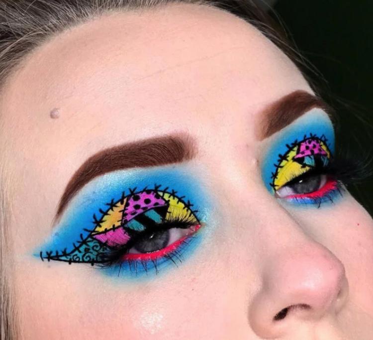 maquiagem-halloween-colorida