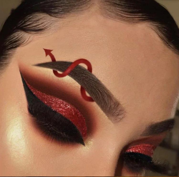 maquiagem-halloween-diabo