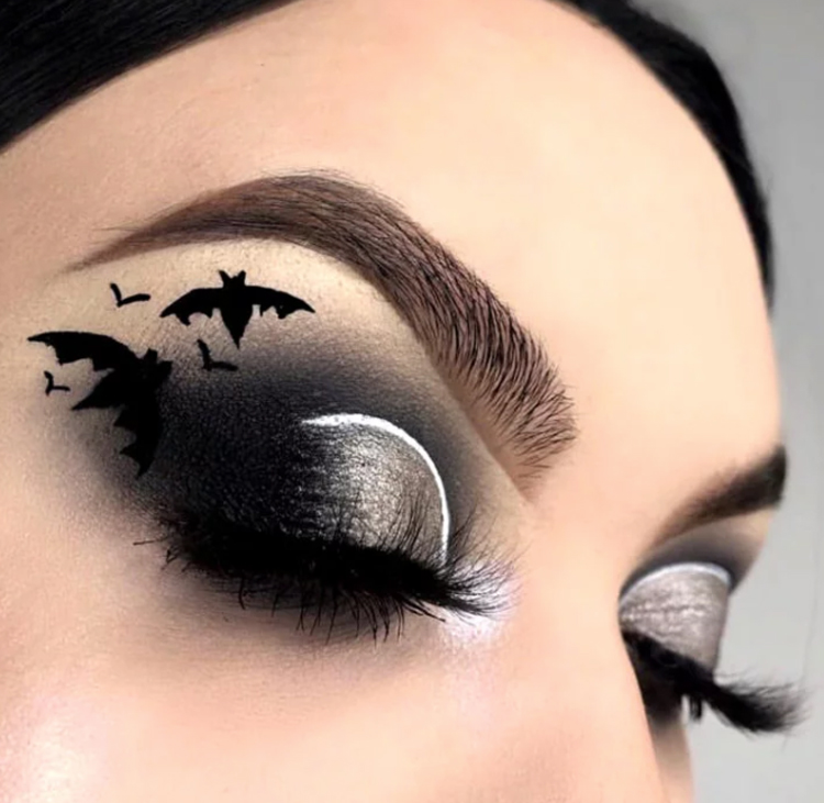 maquiagem-halloween-morcegos-nos-olhos