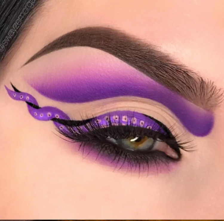 maquiagem-halloween-roxa