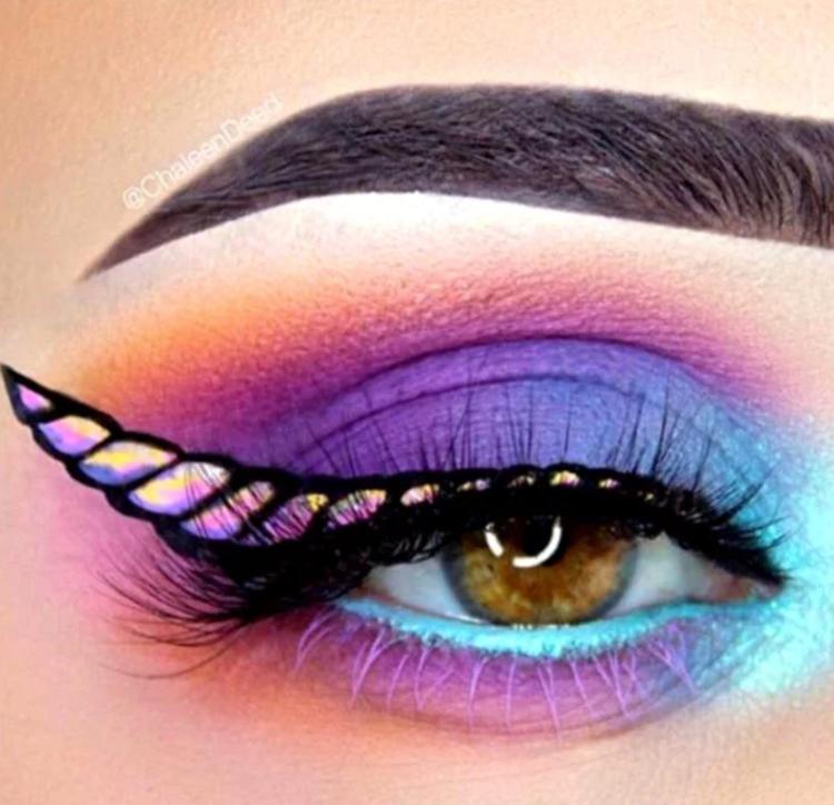 maquiagem-halloween-unicornio