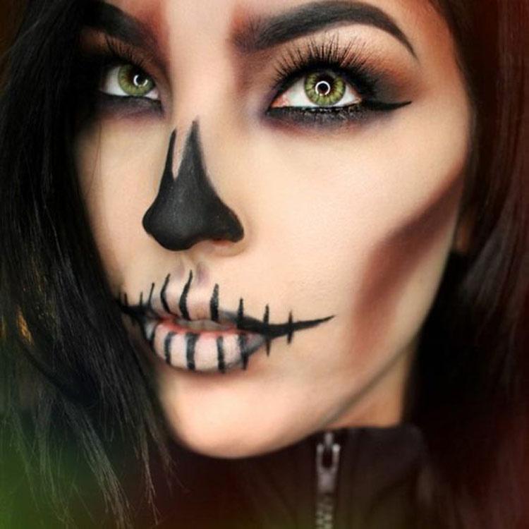 maquiagens-de-Halloween-caveira