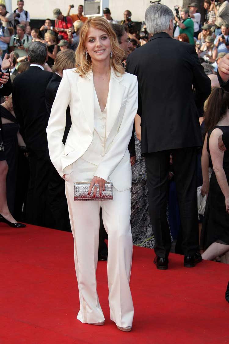 Mélanie-Laurent-terno-branco