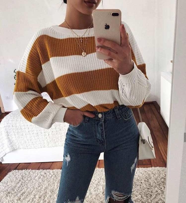 VSCO-girl-looks-com-calça-jeans
