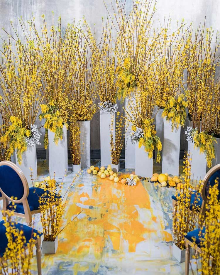 amarelo-na-decoração-de-casamentos
