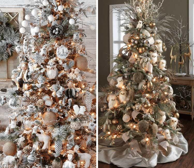 como-decorar-arvore-de-natal-em-tons-dourados