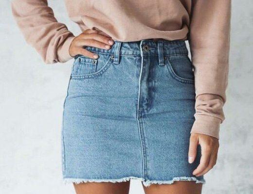 como-usar-saia-jeans