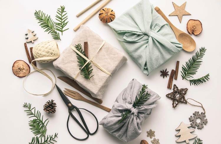 Furoshiki-embalagem-de-presente-ecológica-para-o-Natal