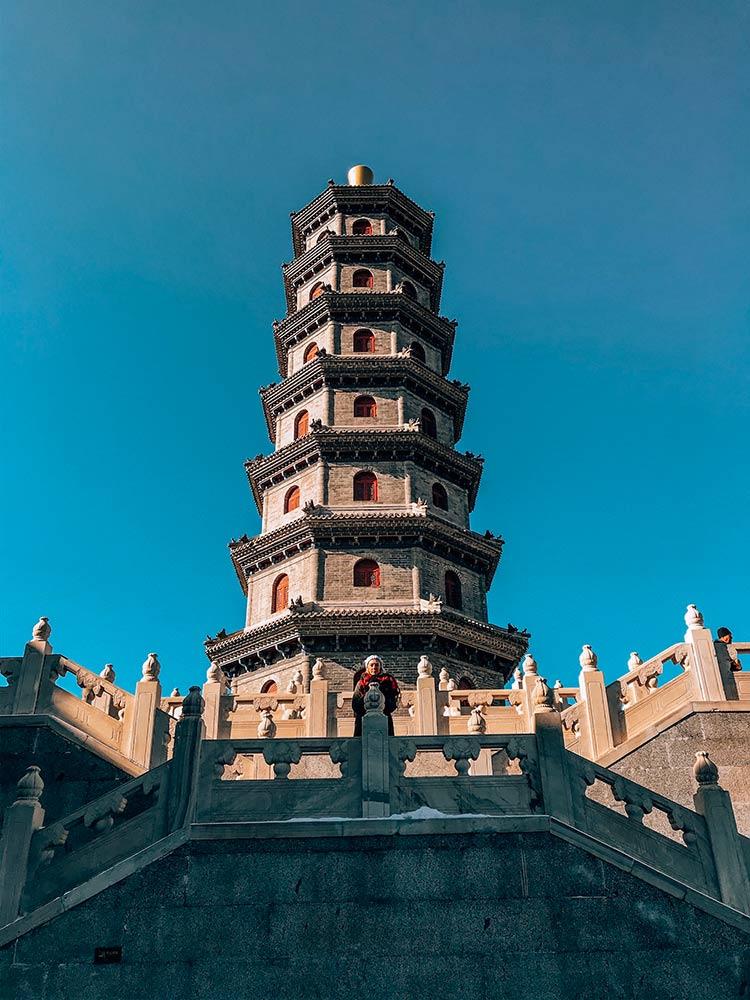 Templo-do-Pagode-Yuantong-gubei-water-town