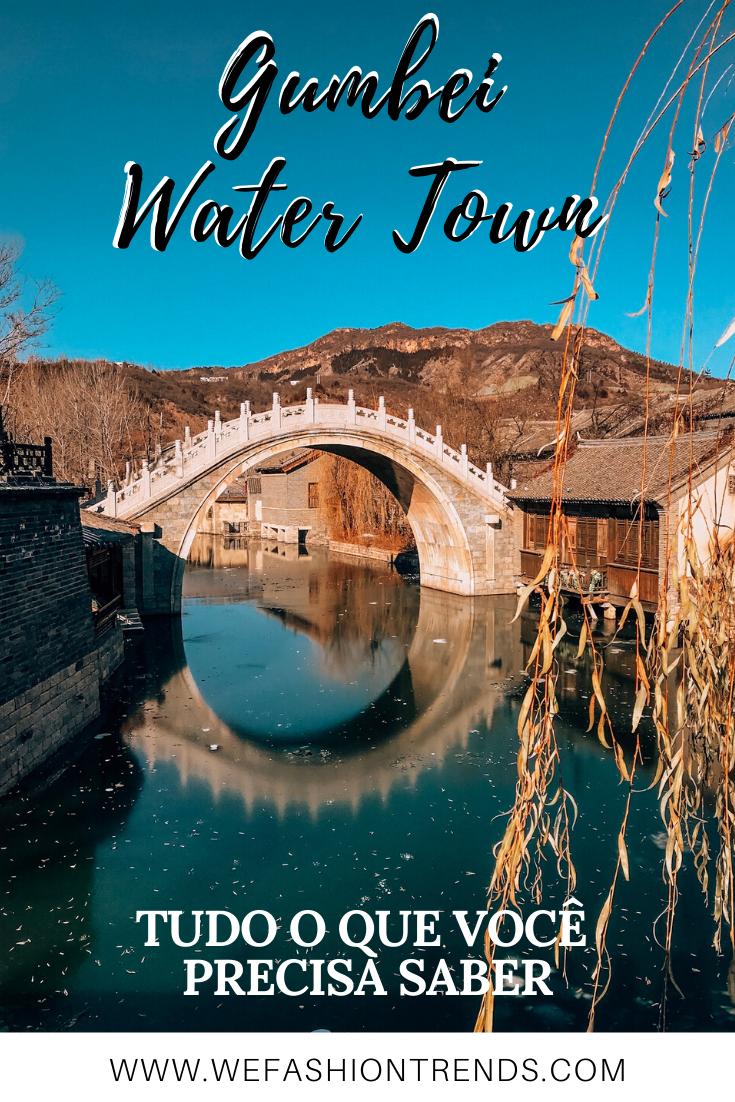 gubei water town guia de viagem como ir