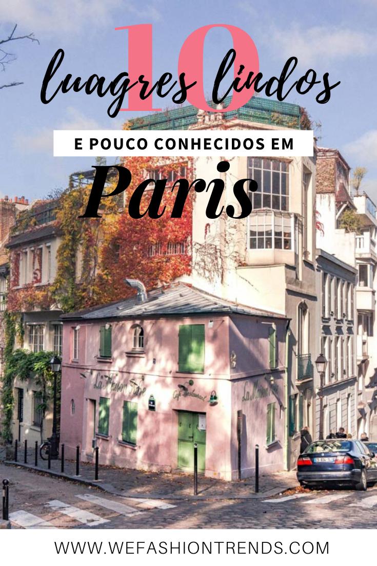 10 lugares incomuns para descobrir em Paris