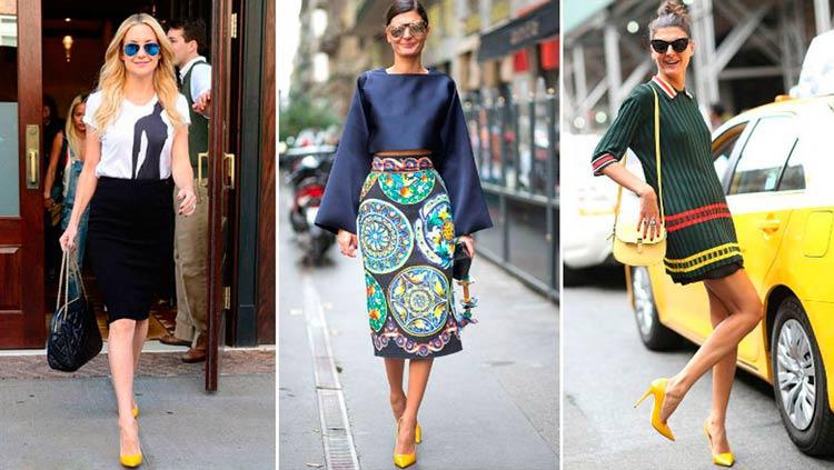 Como-Usar-Looks-com-Sapatos-Coloridos-amarelo