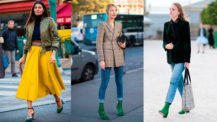 Como-Usar-Looks-com-Sapatos-Coloridos-verde