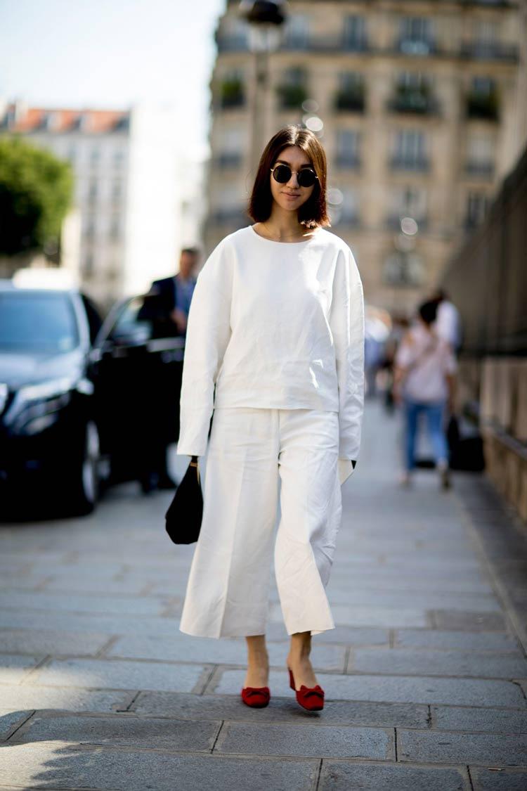 Cores-das-roupas-para-cabelos-castanhos-looks-branco-total
