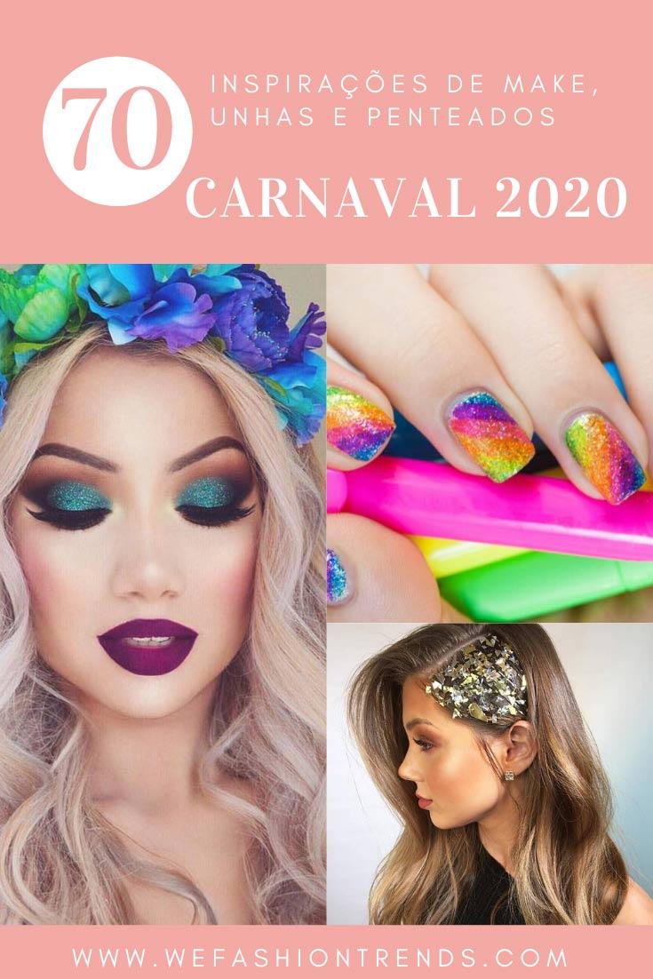 carnaval-2020-maquiagem-penteado-unha-decorada