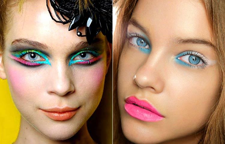 maquiagem-carnaval-colorida