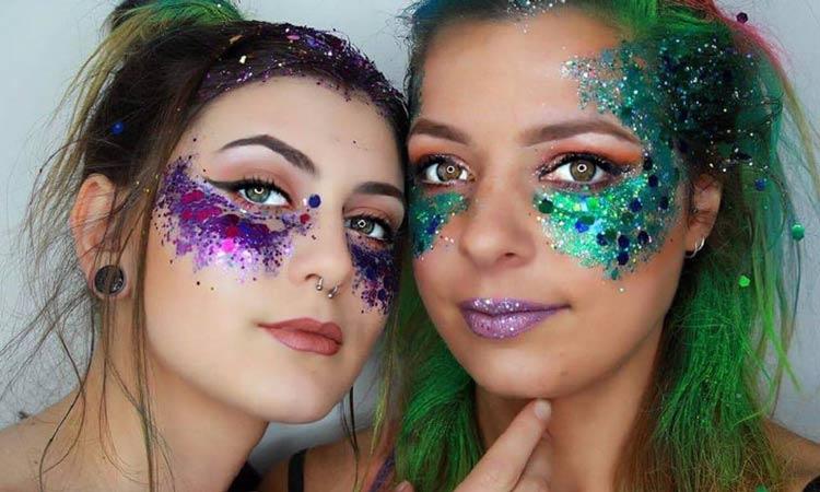 maquiagem-carnaval-colorida-com-glitter