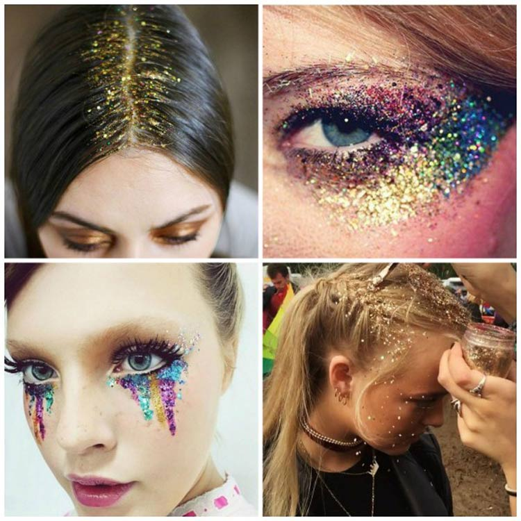 maquiagem-carnaval-glitter-colorido