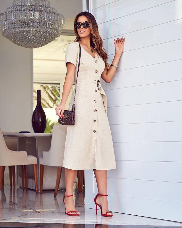 roupas-para-ir-no-culto-igreja-moderna-vestido-linho