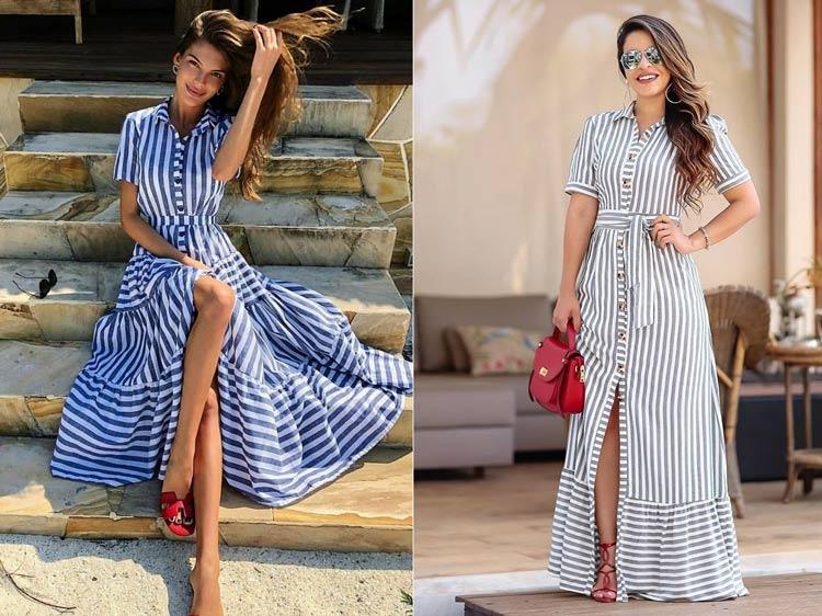 roupas-para-ir-no-culto-igreja-moderna-vestido-listrado