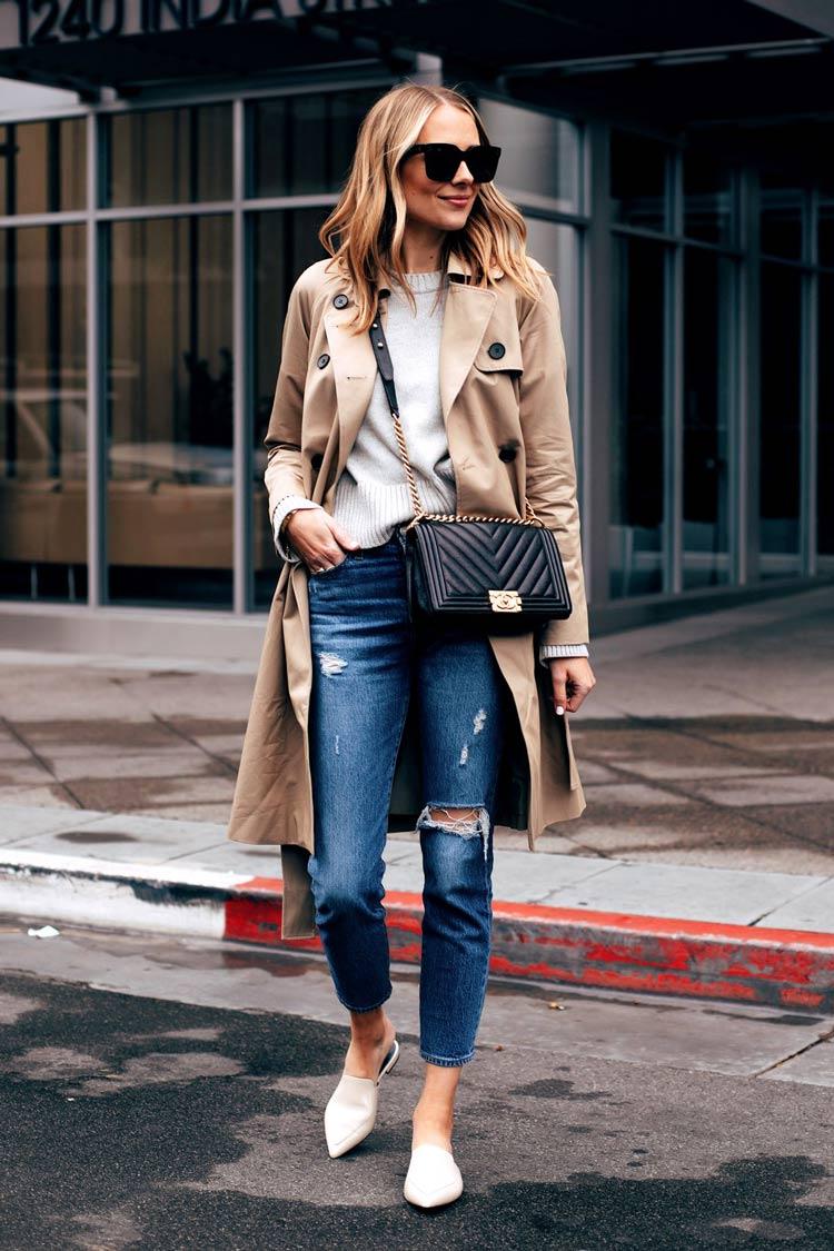 sueter-calca-jeans-e-trench-coat-looks-trabalho