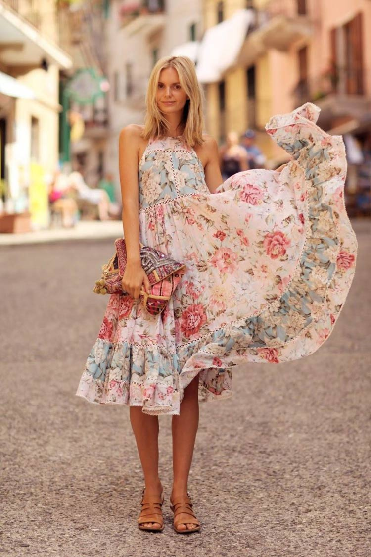 vestidos-folgados-floral