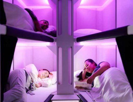 Esta-companhia-aérea-projetou-a-primeira-classe-turística-com-cápsulas-para-dormir