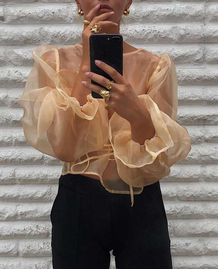 blusa-transparente-manga-bufante-looks-como-usar-tendencia